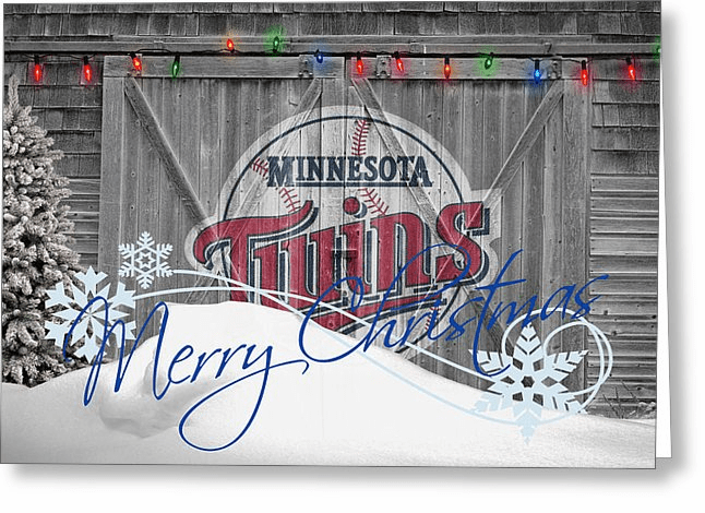 Personalized Minnesota Twins Christmas and Holiday Cards<br>5 DESIGNS!