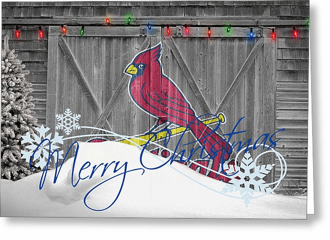 Personalized St. Louis Cardinals Christmas and Holiday Cards<br>5 DESIGNS!