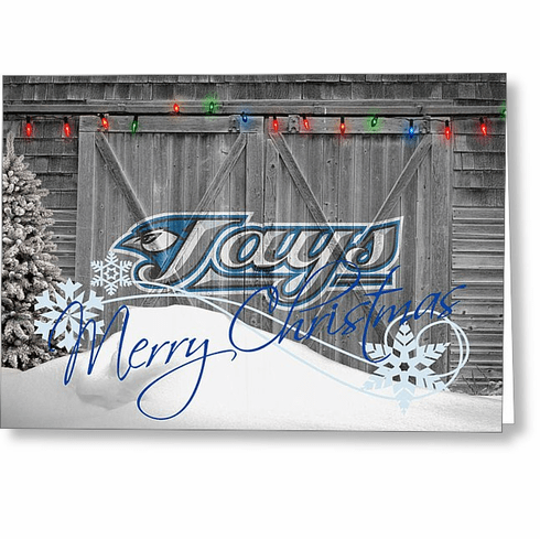Personalized Toronto Blue Jays Christmas and Holiday Cards<br>5 DESIGNS!