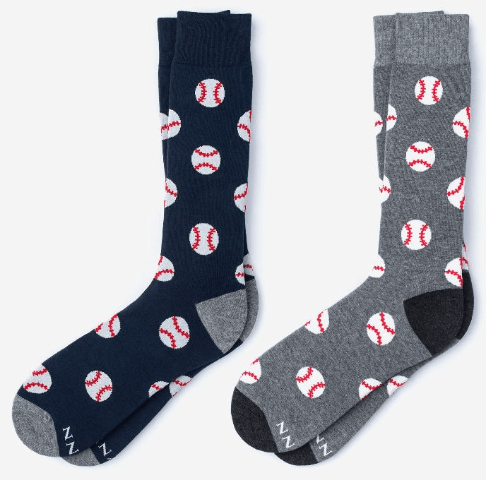 Pitch, Please Baseball Dress Socks