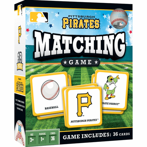 Pittsburgh Pirates Baseball Matching Game<br>ONLY 3 LEFT!