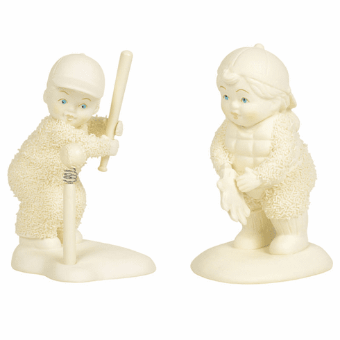 Play Ball 2pc Figurine Set by Snowbabies Classic Collection