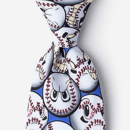 Play Hard Men's Baseball Tie