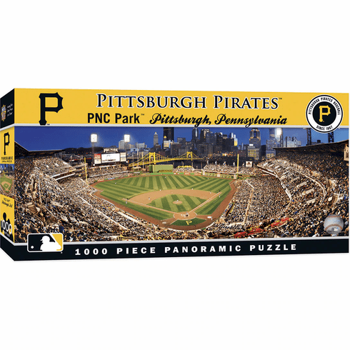 WEEKLY SPECIAL #15<br>ittsburgh Pirates 1000 Piece Panoramic Baseball Stadium Puzzle<br>LESS THAN 6 LEFT!