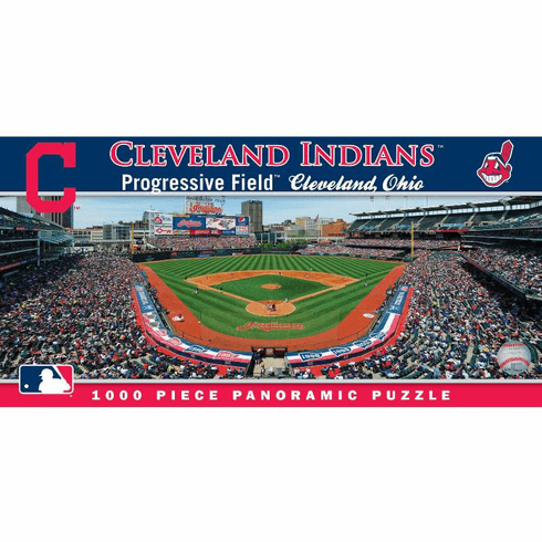 Progressive Field Cleveland Indians 1000pc Panoramic Puzzle<br>LESS THAN 4 LEFT!