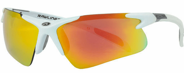 Rawlings 3 White Adult Sunglasses<br>ONLY 3 LEFT!