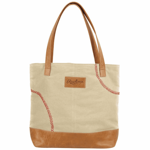 Rawlings Baseball Strike Zone Leather and Canvas Tote Bag<br>SOLD OUT!