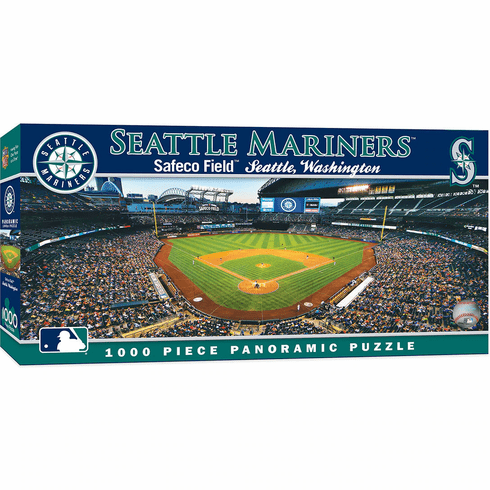 WEEKLY SPECIAL #18<br>Seattle Mariners 1000 Piece Panoramic Baseball Stadium Puzzle<br>LESS THAN 4 LEFT!