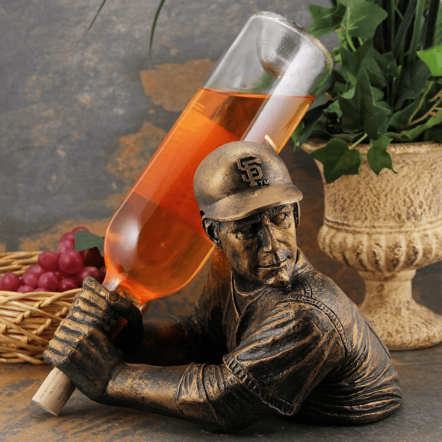 San Francisco Giants Bam Vino Baseball Batter Wine Bottle Holder<br>ONLY 3 LEFT!