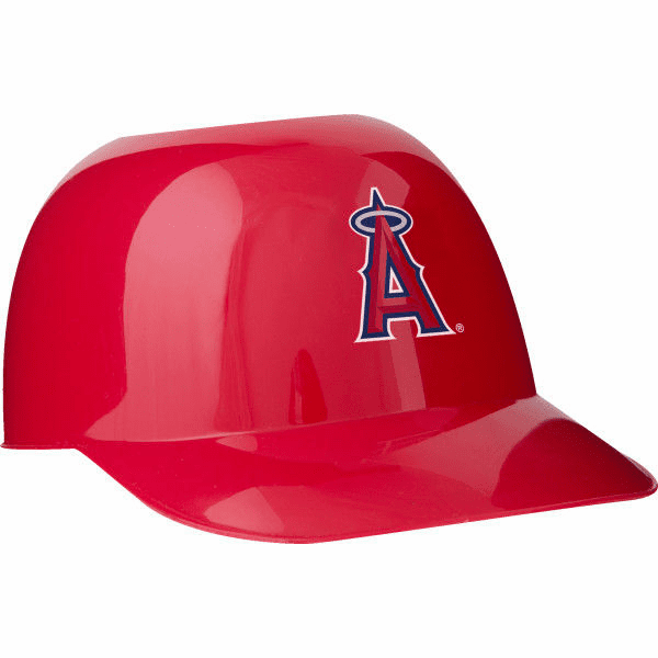 Set of 48 LA Angels of Anaheim 8oz Ice Cream Sundae Baseball Helmet Snack Bowls