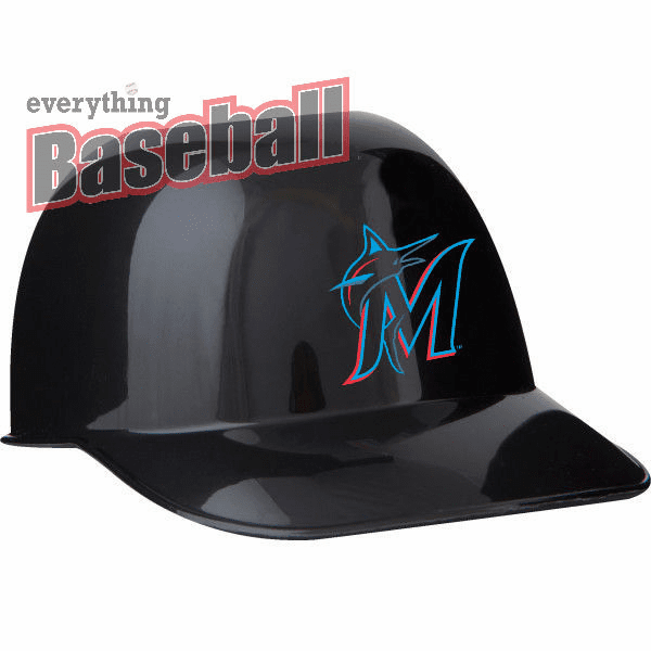 Set of 48 Miami Marlins 8oz Ice Cream Sundae Baseball Helmet Snack Bowls<br>NEW 2019 LOGO!