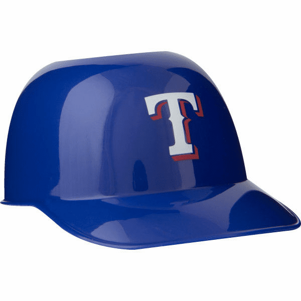 Set of 48 Texas Rangers 8oz Ice Cream Sundae Baseball Helmet Snack Bowls