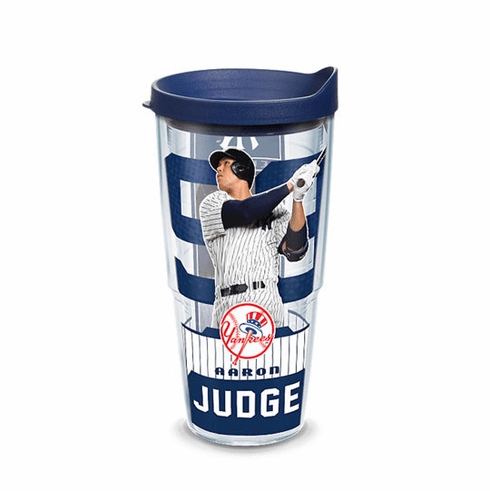 Set of Two MLB Baseball Player 24oz Tumblers with Lids by Tervis