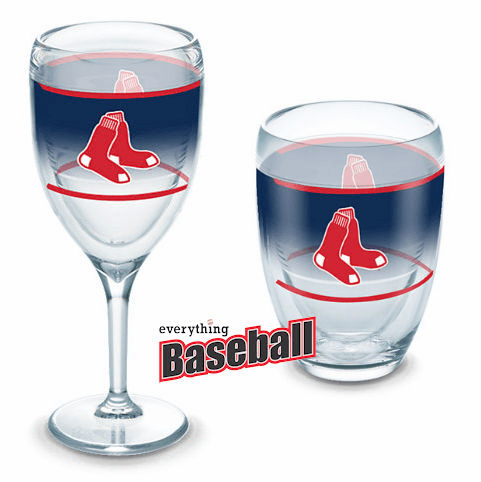 Set of Two MLB Team 9oz Wine Glasses by Tervis<br>ALL MLB TEAMS!