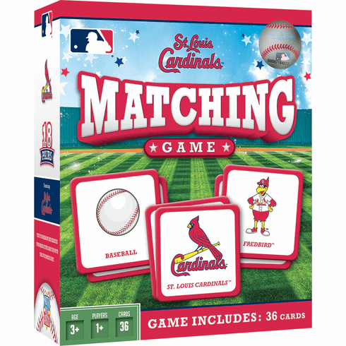 St. Louis Cardinals Baseball Matching Game<br>ONLY 5 LEFT!