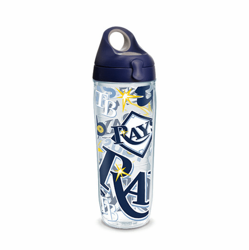 Tampa Bay Rays All Over Wrap Set of Cups with Lids by Tervis 3efecb7d24d