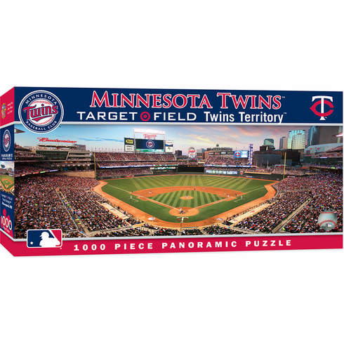 Target Field Minnesota Twins 1000pc Panoramic Puzzle<br>ONLY 3 LEFT!