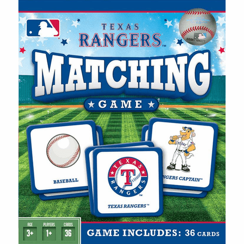 Texas Rangers Baseball Matching Game<br>ONLY 3 LEFT!