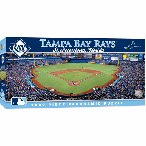 Tampa Bay Rays 1000 Piece Panoramic Baseball Stadium Puzzle<br>LESS THAN 4 LEFT!