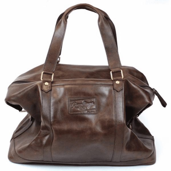 Vintage Baseball Glove Leather Away Game Duffel Bag by Rawlings<br>2 COLOR OPTIONS!