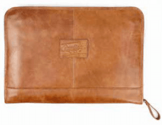 Vintage Baseball Glove Leather Deluxe Folio by Rawlings<br>3 COLOR OPTIONS!