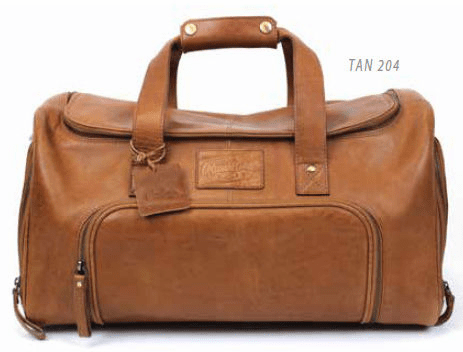 Vintage Baseball Glove Leather Performance Duffel Bag by Rawlings<br>2 COLOR OPTIONS!