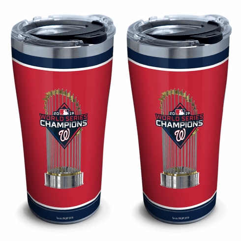 Washington Nationals 2019 World Series Champions Stainless Steel Tumblers by Tervis<br>CHOOSE 20oz or 30oz!