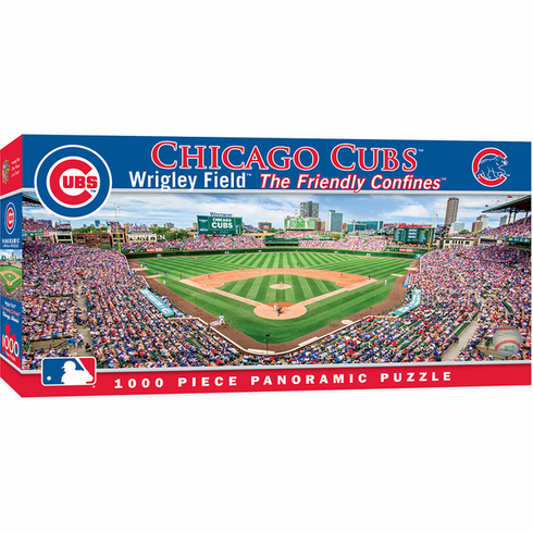 Chicago Cubs 1000 Piece Panoramic Wrigley Field Baseball Stadium Puzzle<br>LESS THAN 6 LEFT!