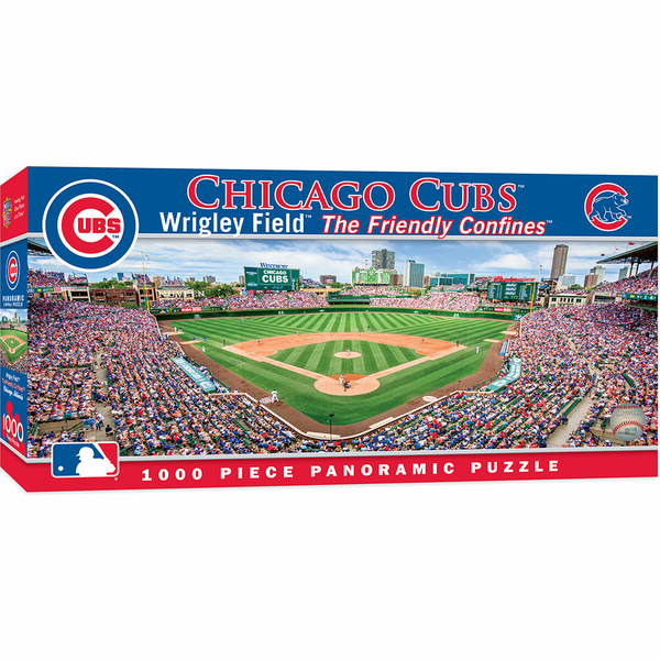 Wrigley Field Chicago Cubs 1000pc Panoramic Puzzle<br>LESS THAN 10 LEFT!