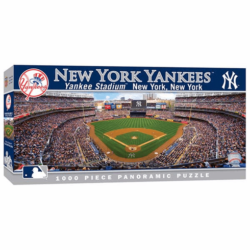 WEEKLY SPECIAL #7<br>New York Yankees 1000 Piece Panoramic Baseball Stadium Puzzle<br>LESS THAN 5 LEFT!