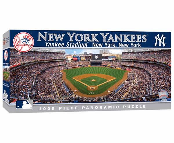 Yankee Stadium New York Yankees 1000pc Panoramic Puzzle<br>LESS THAN 6 LEFT!