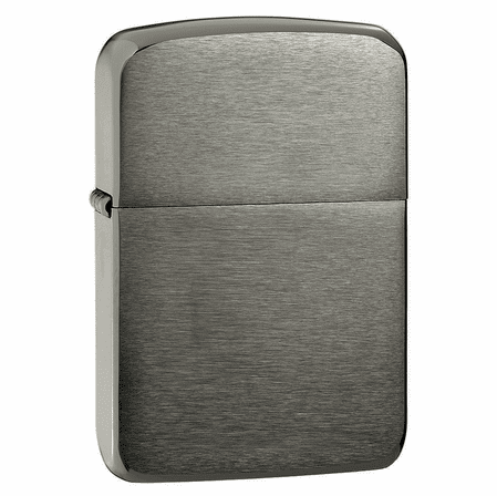 1941 Replica Black Ice Zippo Lighter - ID# 24096