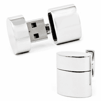 4GB USB Flash Drive Cufflinks