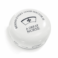 A Great Nurse Desktop Paperweight
