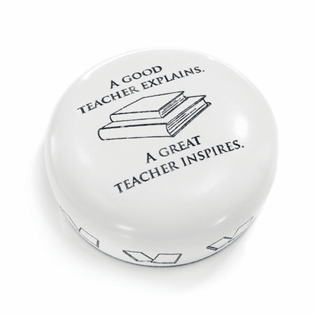 A Great Teacher Desktop Paperweight