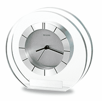 Accolade Tabletop Clock by Bulova