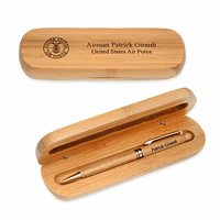 Air Force Bamboo Pen and Box Set