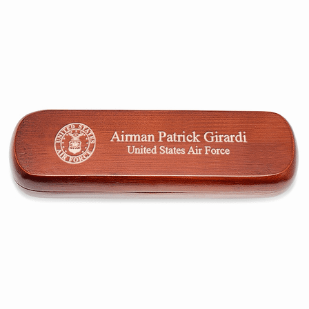 Air Force Cherrywood Double Pen and Box Set