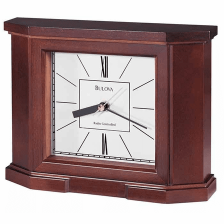 Altus Radio Controlled Tabletop Clock By Bulova