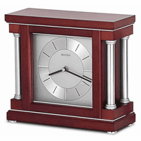 Ambiance Personalized Mantel Clock by Bulova