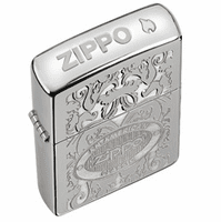 An American Classic Crown Stamp High Polish Chrome Zippo Lighter - ID# 24751