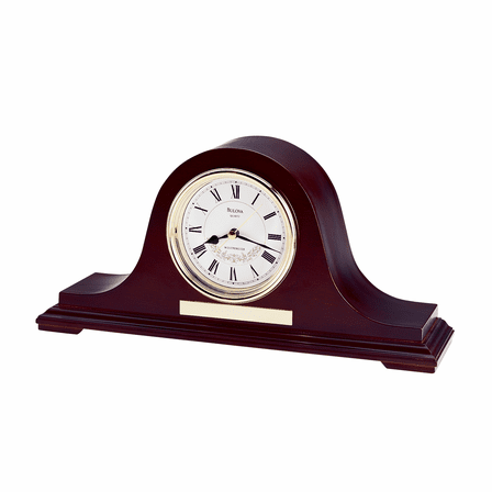 Annette II Chiming Mantel Clock by Bulova