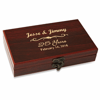 Anniversary Gift  Cards & Dice Set