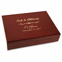 Anniversary Gift Piano Finish 30 Cigar  Humidor