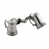 Antique Finish Beer Stein Cufflinks