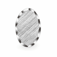 Antiqued Sterling Silver Engravable Tie Tack