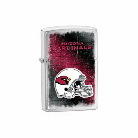 Arizona Cardinals NFL Brushed Chrome Zippo Lighter - ID# 28202