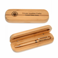 Army Bamboo Pen and Box Set