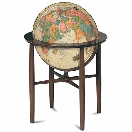 Austin Floor Globe In Antique by Replogle Globes