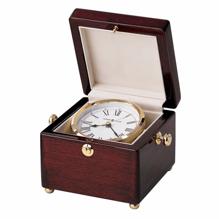 Bailey Rosewood Chest Clock by Howard Miller